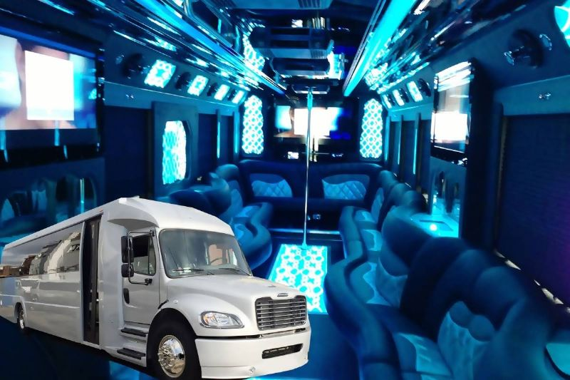 29 Passenger Custom Limo Bus